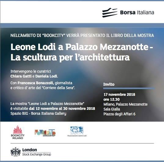 Leone Lodi La scultura per l'architettura